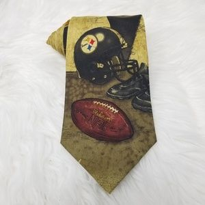 NFL Pittsburgh Steelers Football Mens Classic Tie